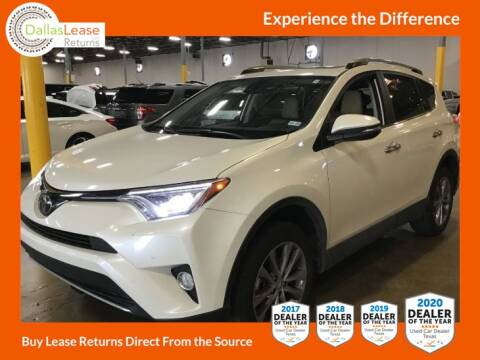 2018 Toyota RAV4 for sale at Dallas Auto Finance in Dallas TX