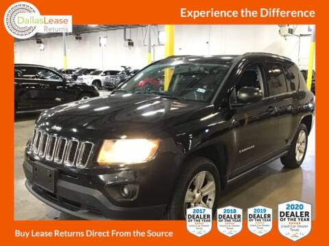 2014 Jeep Compass for sale at Dallas Auto Finance in Dallas TX