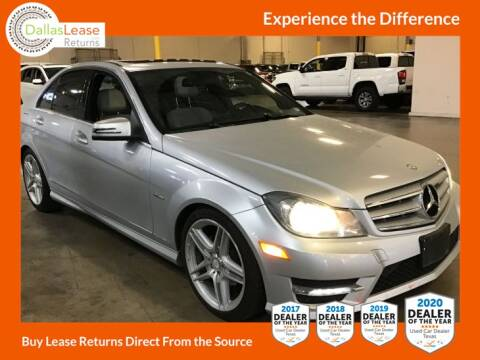 2012 Mercedes-Benz C-Class for sale at Dallas Auto Finance in Dallas TX