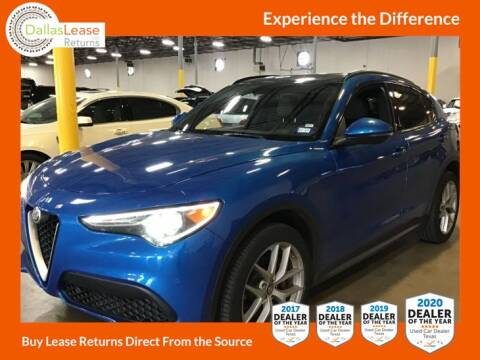2018 Alfa Romeo Stelvio for sale at Dallas Auto Finance in Dallas TX