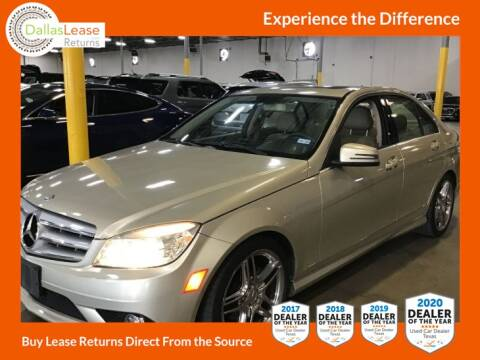 2010 Mercedes-Benz C-Class for sale at Dallas Auto Finance in Dallas TX