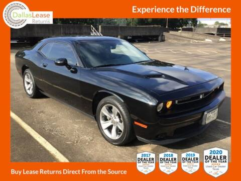 2016 Dodge Challenger for sale at Dallas Auto Finance in Dallas TX