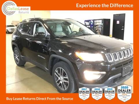 2018 Jeep Compass for sale at Dallas Auto Finance in Dallas TX