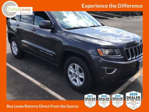 2016 Jeep Grand Cherokee for sale at Dallas Auto Finance in Dallas TX
