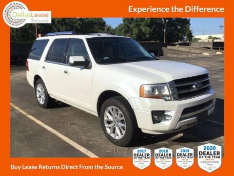 2017 Ford Expedition for sale at Dallas Auto Finance in Dallas TX