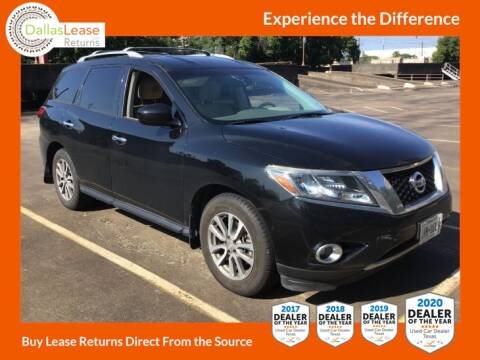 2015 Nissan Pathfinder for sale at Dallas Auto Finance in Dallas TX