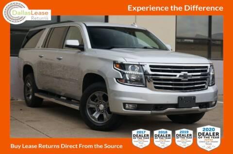 2016 Chevrolet Suburban for sale at Dallas Auto Finance in Dallas TX