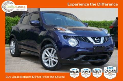 2015 Nissan JUKE for sale at Dallas Auto Finance in Dallas TX
