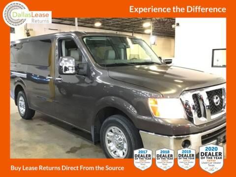 2016 Nissan NV Passenger for sale at Dallas Auto Finance in Dallas TX