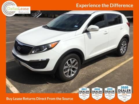 2015 Kia Sportage for sale at Dallas Auto Finance in Dallas TX
