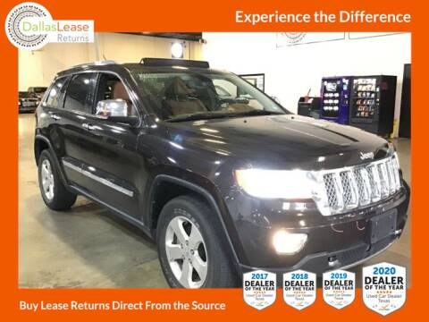 2012 Jeep Grand Cherokee for sale at Dallas Auto Finance in Dallas TX