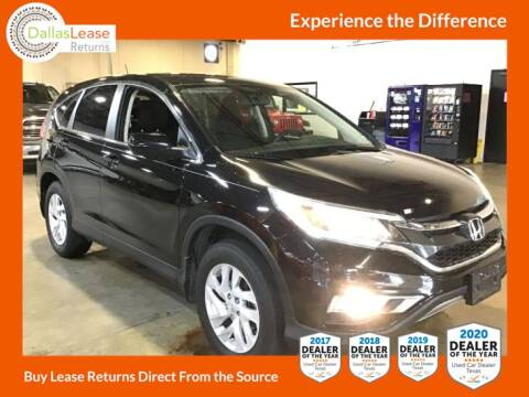 2016 Honda CR-V for sale at Dallas Auto Finance in Dallas TX