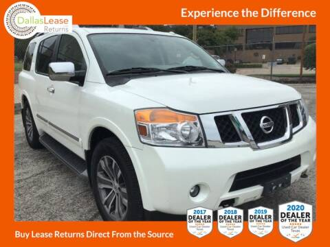 2015 Nissan Armada for sale at Dallas Auto Finance in Dallas TX