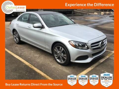 2016 Mercedes-Benz C-Class for sale at Dallas Auto Finance in Dallas TX