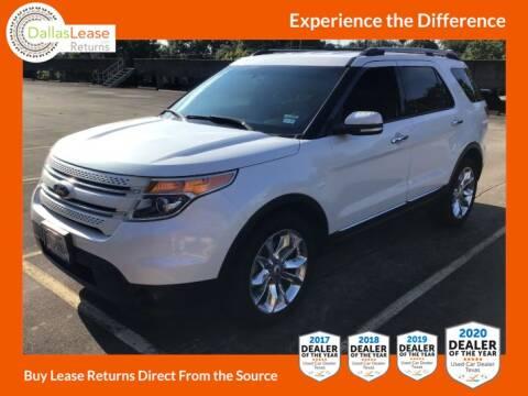 2015 Ford Explorer for sale at Dallas Auto Finance in Dallas TX