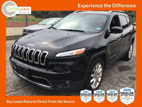 2016 Jeep Cherokee for sale at Dallas Auto Finance in Dallas TX