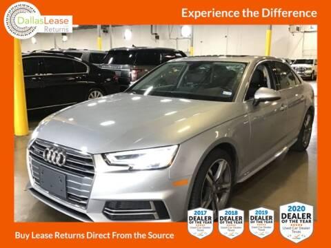 2018 Audi A4 for sale at Dallas Auto Finance in Dallas TX