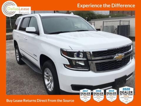 2016 Chevrolet Tahoe for sale at Dallas Auto Finance in Dallas TX