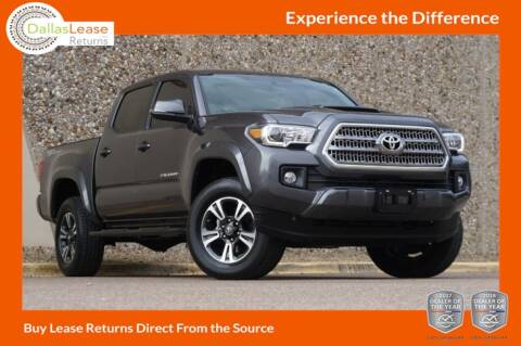 2016 Toyota Tacoma for sale at Dallas Auto Finance in Dallas TX