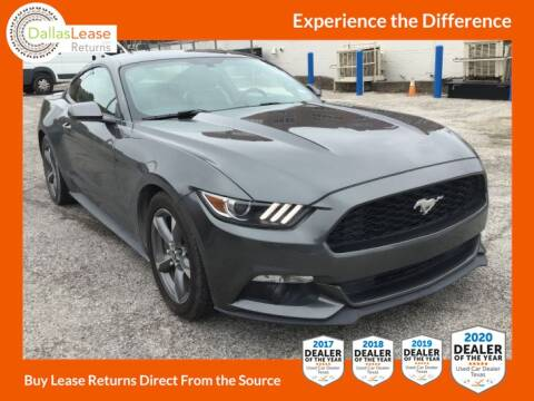 2016 Ford Mustang for sale at Dallas Auto Finance in Dallas TX