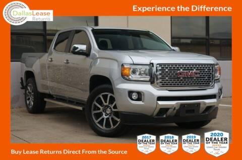 2017 GMC Canyon for sale at Dallas Auto Finance in Dallas TX