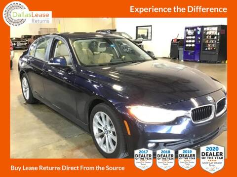 2016 BMW 3 Series for sale at Dallas Auto Finance in Dallas TX