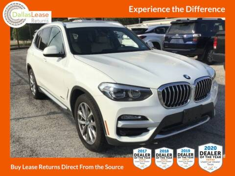2018 BMW X3 for sale at Dallas Auto Finance in Dallas TX