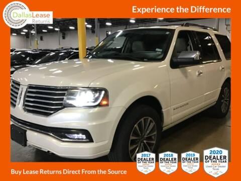 2016 Lincoln Navigator for sale at Dallas Auto Finance in Dallas TX