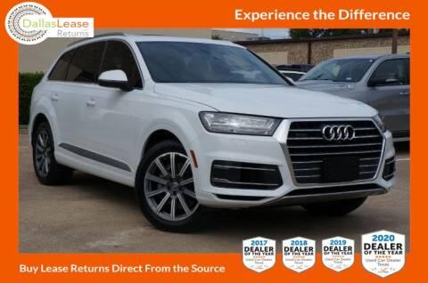 2017 Audi Q7 for sale at Dallas Auto Finance in Dallas TX