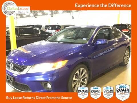2013 Honda Accord for sale at Dallas Auto Finance in Dallas TX