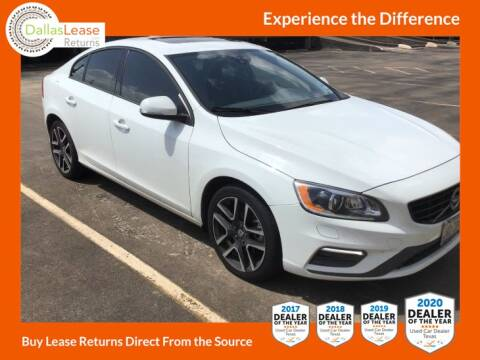 2017 Volvo S60 for sale at Dallas Auto Finance in Dallas TX