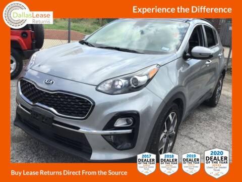 2020 Kia Sportage for sale at Dallas Auto Finance in Dallas TX