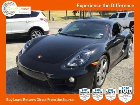 2016 Porsche Cayman for sale at Dallas Auto Finance in Dallas TX