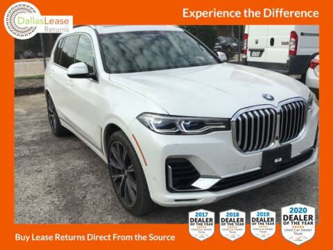 2019 BMW X7 for sale at Dallas Auto Finance in Dallas TX