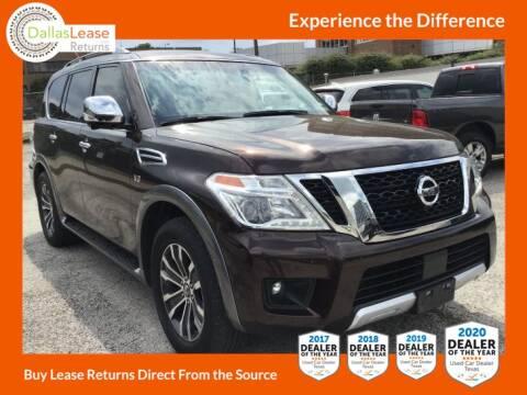 2017 Nissan Armada for sale at Dallas Auto Finance in Dallas TX