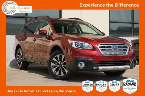 2017 Subaru Outback for sale at Dallas Auto Finance in Dallas TX