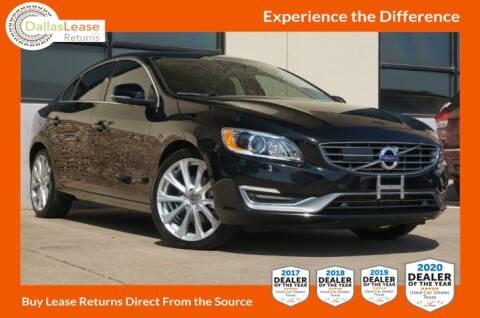 2018 Volvo S60 for sale at Dallas Auto Finance in Dallas TX