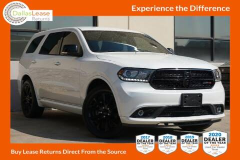 2017 Dodge Durango for sale at Dallas Auto Finance in Dallas TX