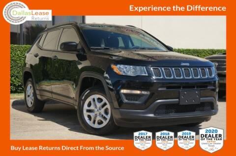 2017 Jeep Compass for sale at Dallas Auto Finance in Dallas TX