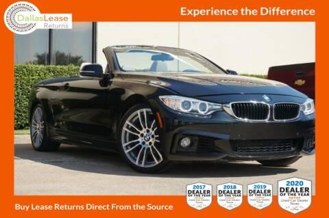 2015 BMW 4 Series for sale at Dallas Auto Finance in Dallas TX