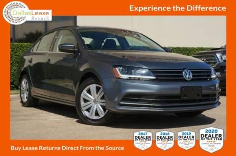 2017 Volkswagen Jetta for sale at Dallas Auto Finance in Dallas TX
