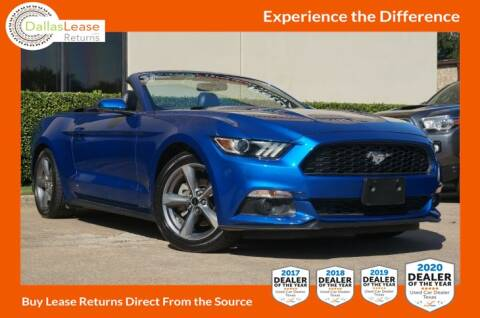 2017 Ford Mustang for sale at Dallas Auto Finance in Dallas TX