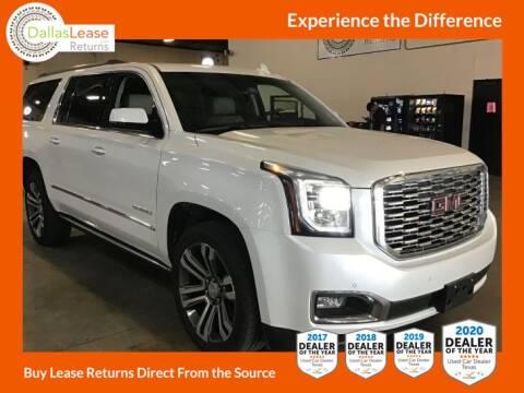 2019 GMC Yukon XL for sale at Dallas Auto Finance in Dallas TX