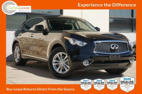 2017 Infiniti QX70 for sale at Dallas Auto Finance in Dallas TX