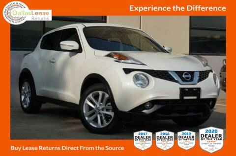 2016 Nissan JUKE for sale at Dallas Auto Finance in Dallas TX