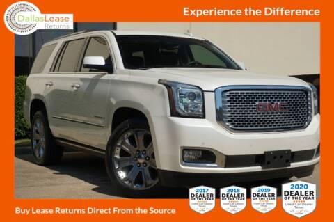 2015 GMC Yukon for sale at Dallas Auto Finance in Dallas TX