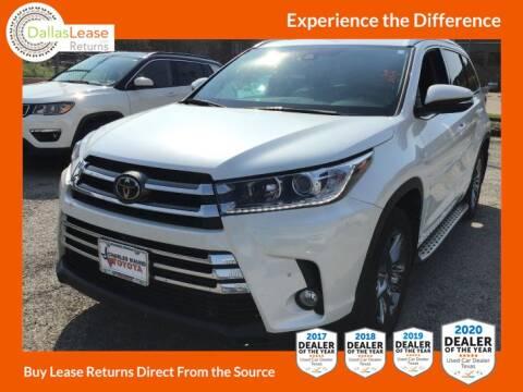 2017 Toyota Highlander for sale at Dallas Auto Finance in Dallas TX