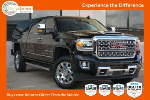 2018 GMC Sierra 2500HD for sale at Dallas Auto Finance in Dallas TX