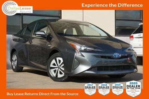 2017 Toyota Prius for sale at Dallas Auto Finance in Dallas TX