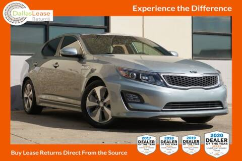 2014 Kia Optima Hybrid for sale at Dallas Auto Finance in Dallas TX